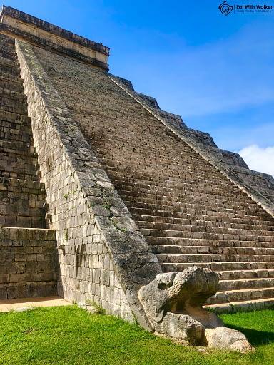Chichen Itza El Castillo Temple - Bucket List Trip Chichen Itza and Cenote Ik Kil