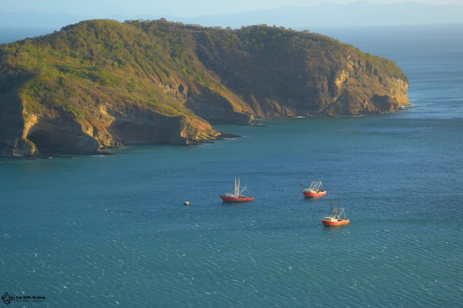 Boats in the bay - San Juan del Sur