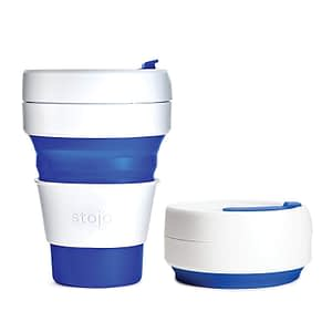 Stojo Silicone Travel Cup - travel more sustainably