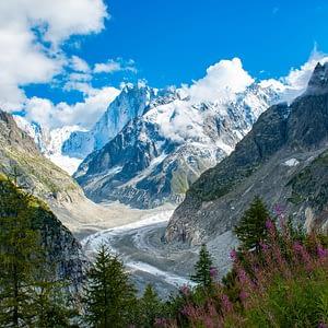Landscape Photography - Mer de Glace, Chamonix, France