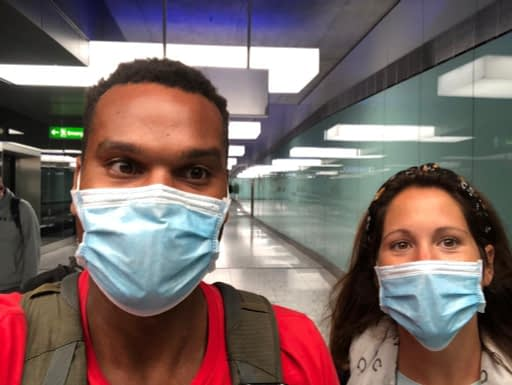 What does air travel look like in a pandemic?