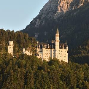 Neuschwanstein Castle Portrait