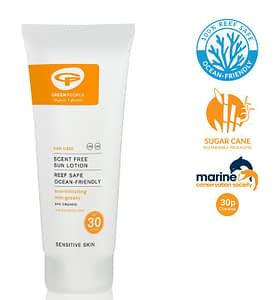 Green People Reef Safe Sun Tan Lotion - travel more sustainably