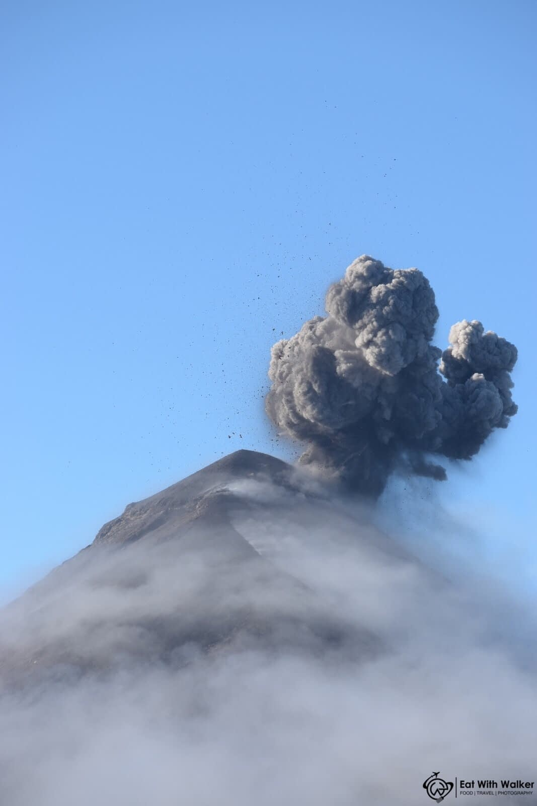 Volcano Acatenango - Antigua